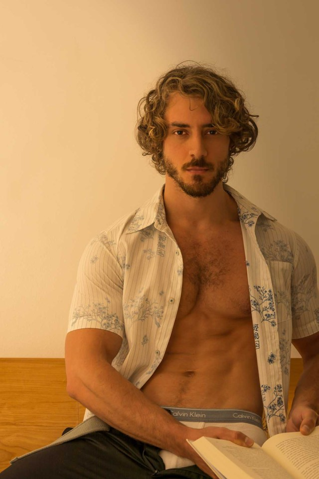 Bernardo Dutra X Carlos Andrés Montoya X Brazilian Male Model X YUP MAGAZINE