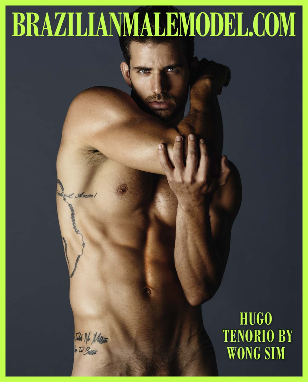 Hugo Tenorio X Wong Sim X Brazilian Male Model X YUP MAGAZINE