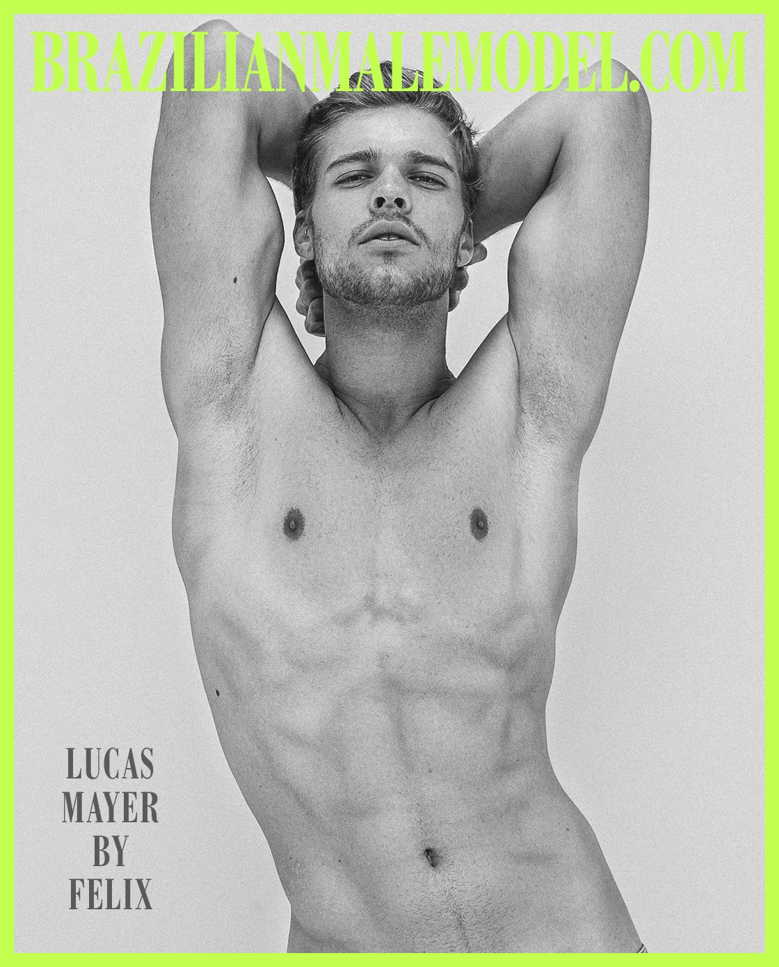 LUCAS MAYER X FELIX X BRAZILIAN MALE MODEL X YUP MAGAZINE