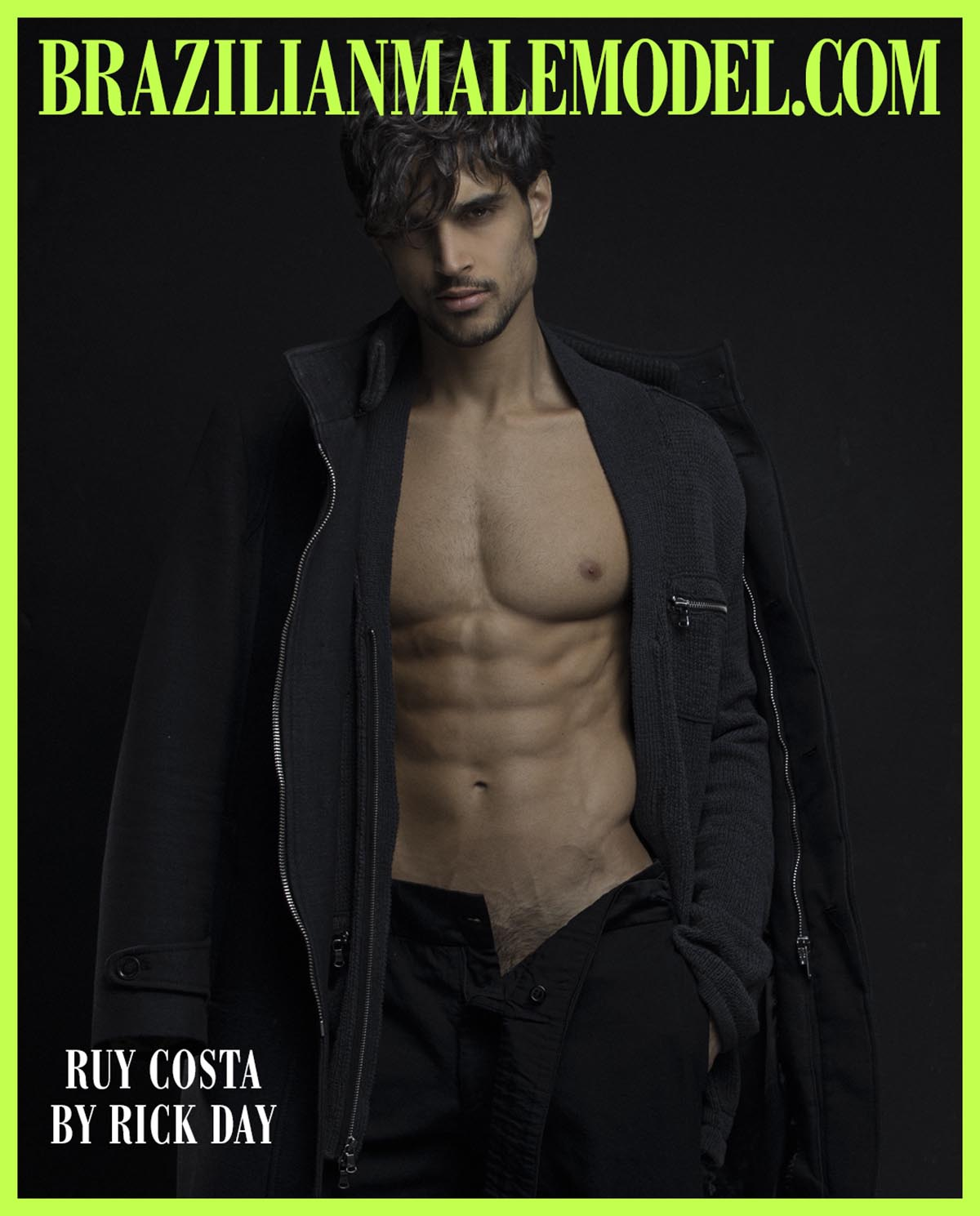 Ruy Costa X Rick Day x Brazilian Male Model X YUP MAGAZINE