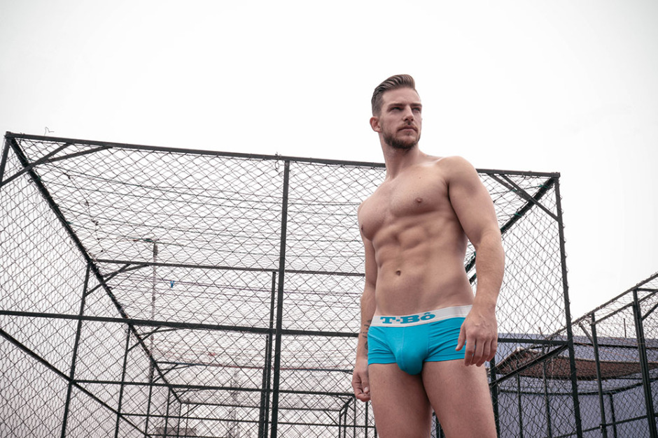 Daniel Sisniega X Damian García X T-Bô Underwear X YUP MAGAZINE