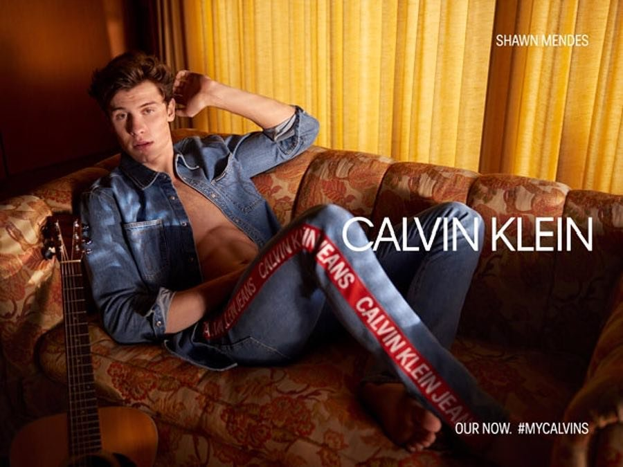 Shawn Mendes X CalvinKlein X YUP MAGAZINE