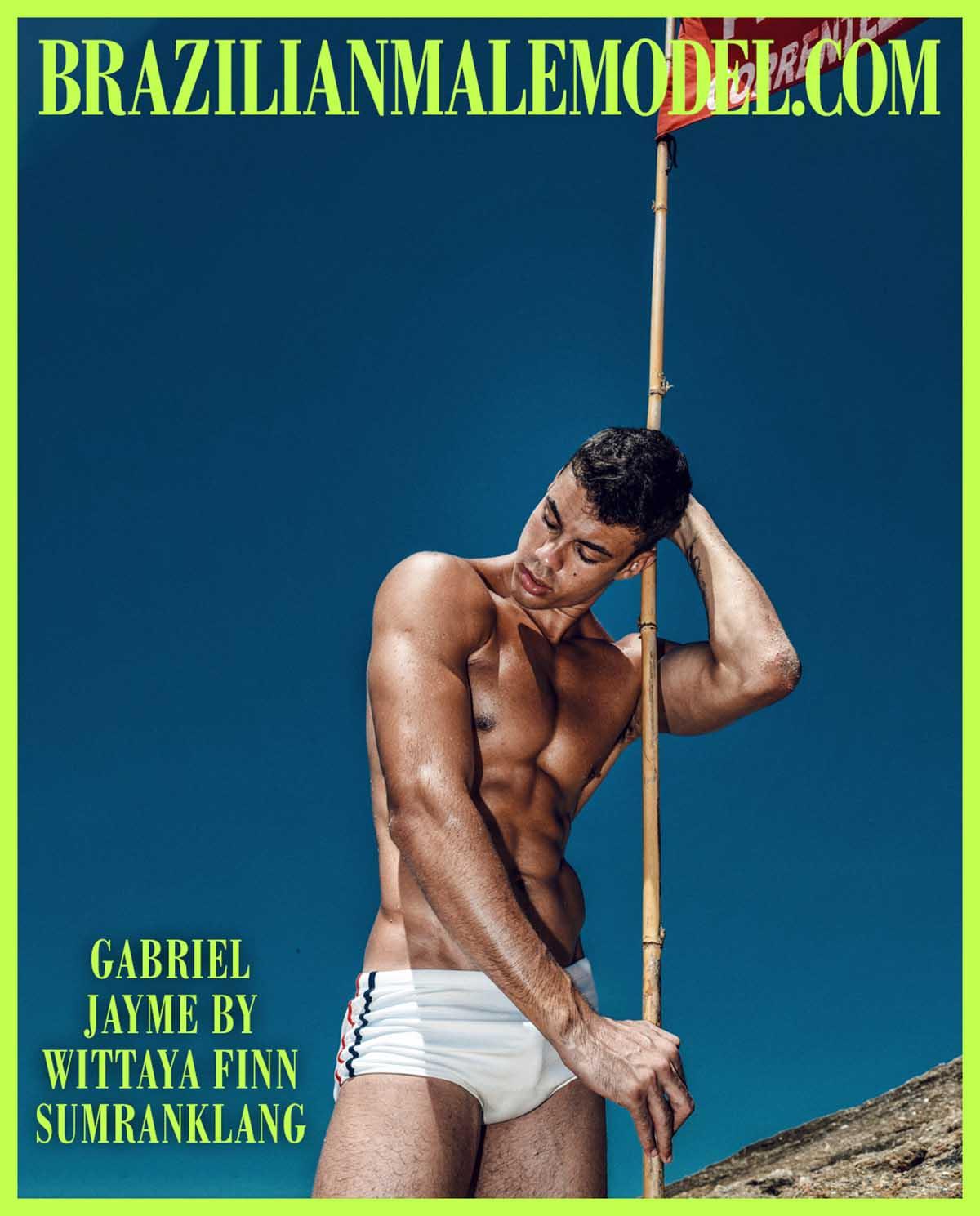GABRIEL JAYME X WITTAYA FINN SUMRANKLANG X Brazilian Male Model