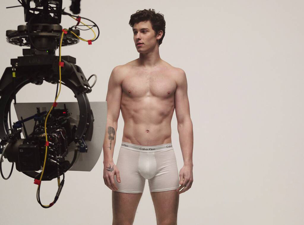 Behind the scenes X Shawn Mendes X Calvin Klein Campaign X YUP Magazine