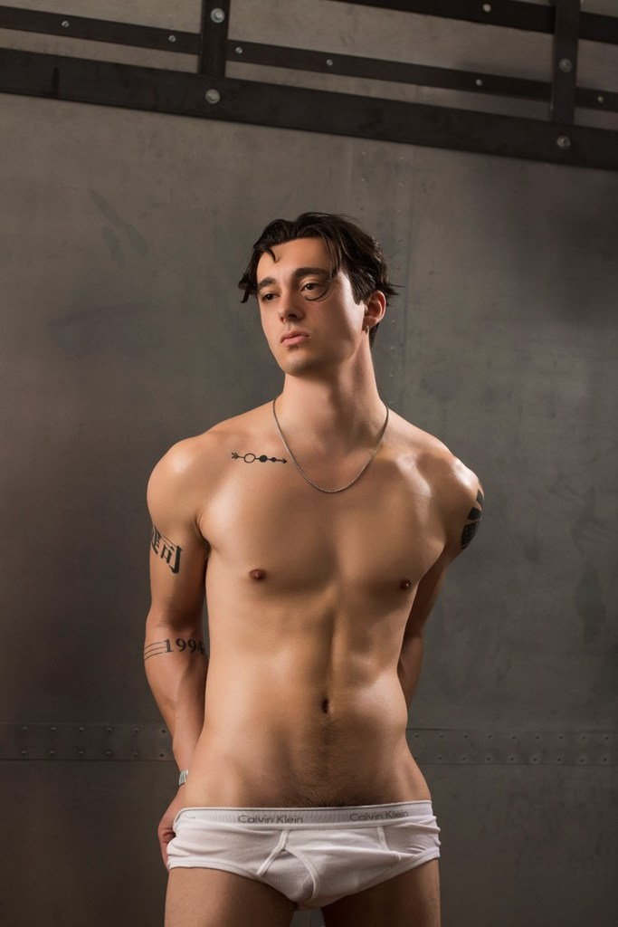 Chris Shirtless X Alex Hilbert X YUP Magazine