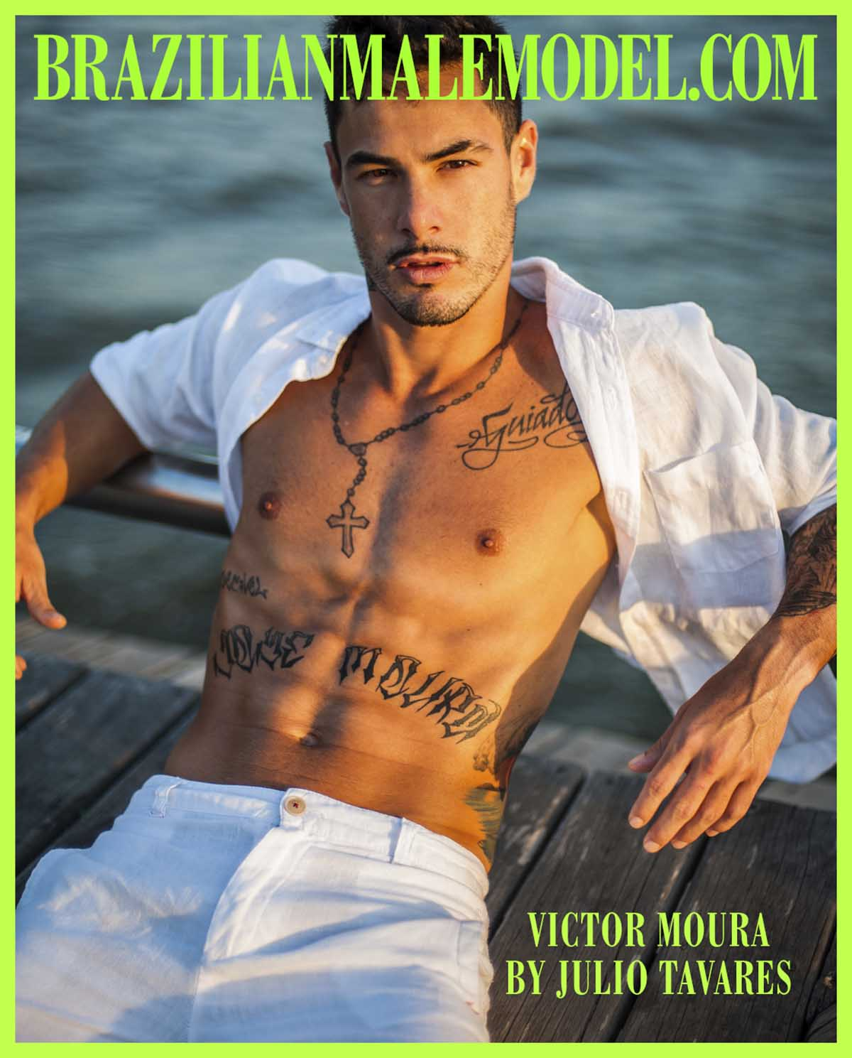 Victor Moura X Julio Tavares X Brazilian Male Model