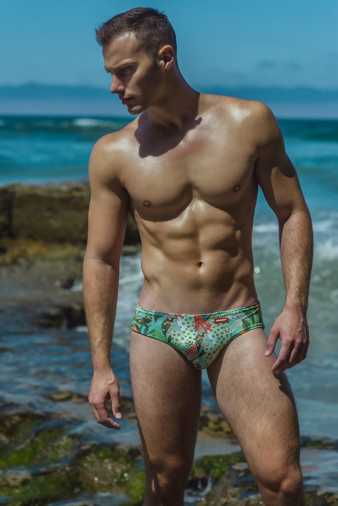 Alex E X Armando Adajar X HUNK2 swimwear