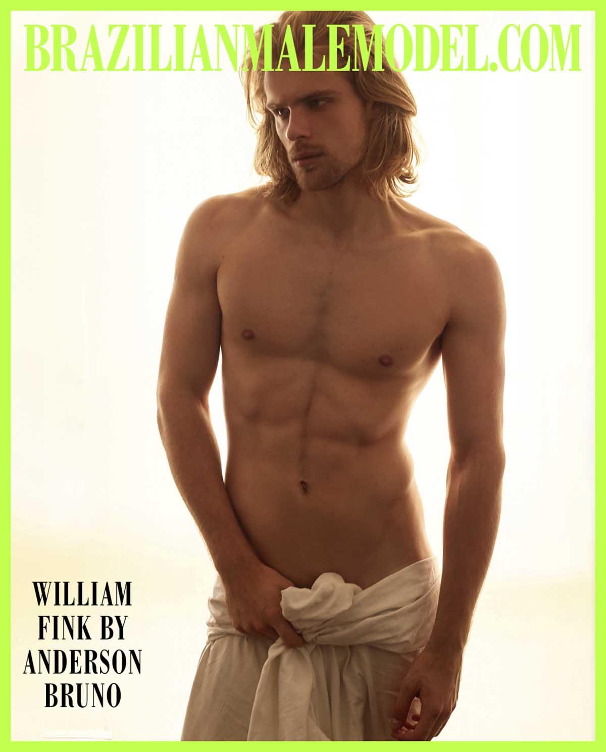 William Fink X Anderson Bruno X Brazilian Male Model x Yup Magazine