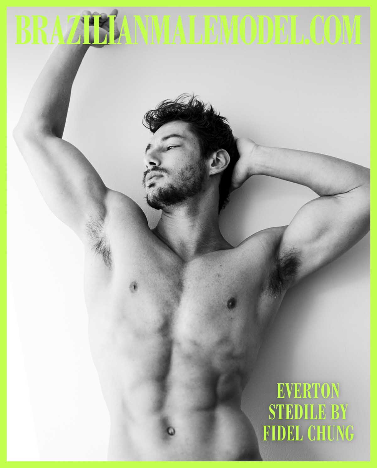 EVERTON STEDILE X FIDEL CHUNG X BRAZILIAN MALE MODEL