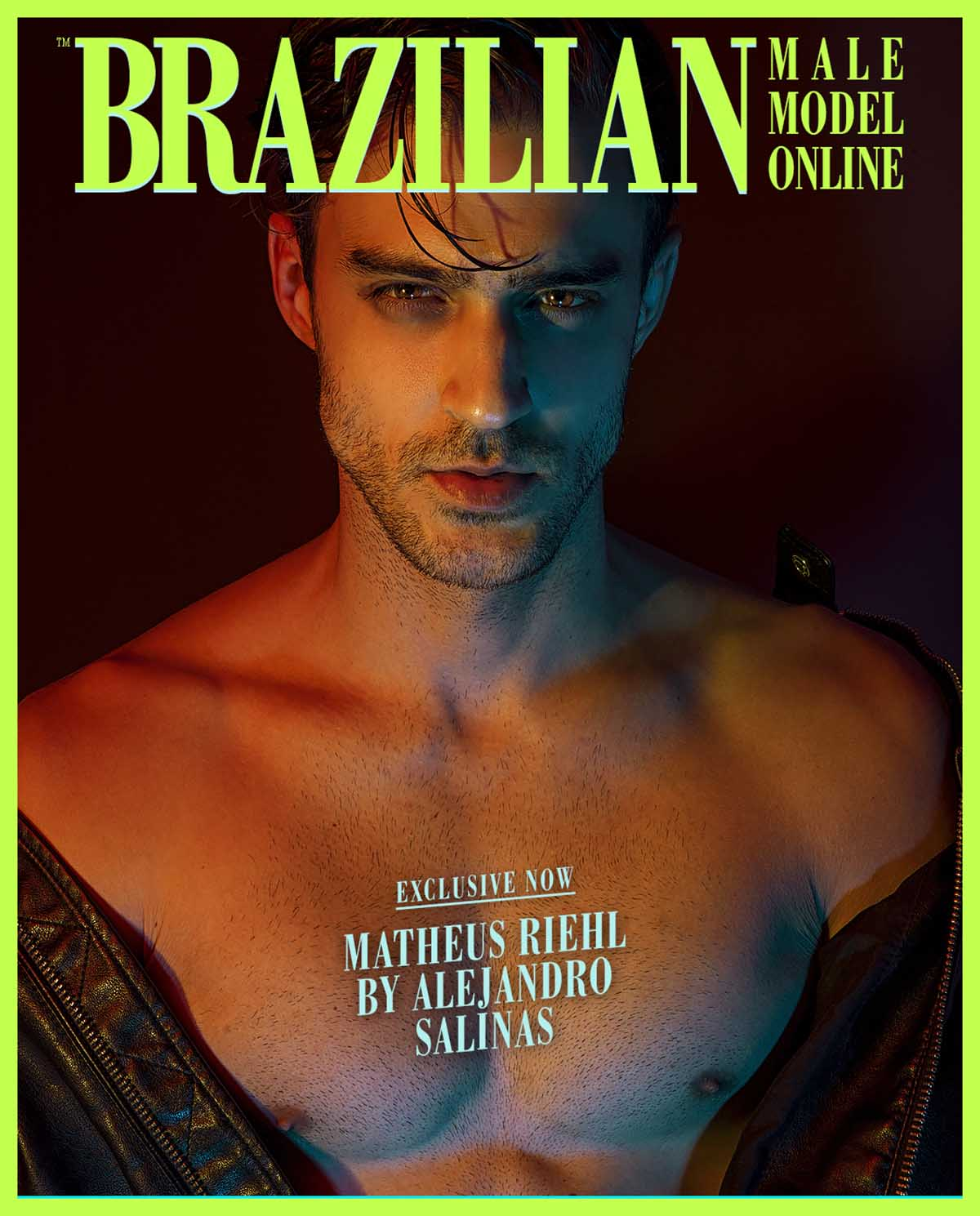 Matheus Riehl by Alejandro Salinas for Brazilian Male Model X YUP MAGAZINE