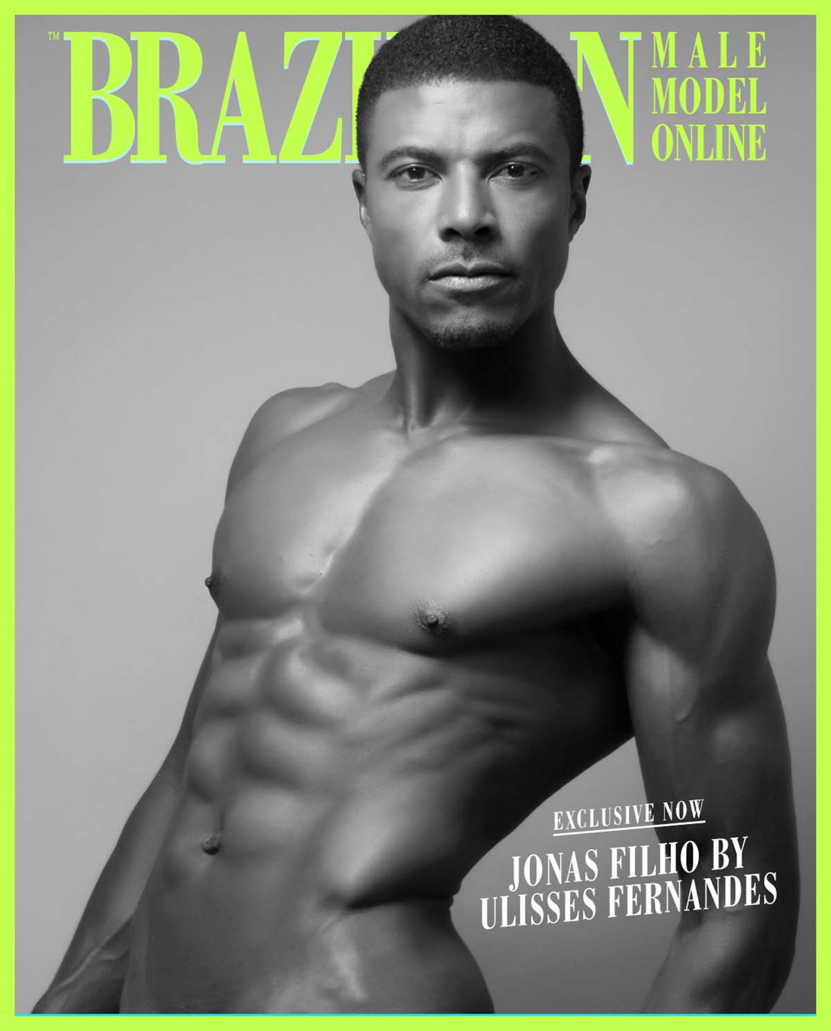 Jonas Filho X Ulisses Fernandes X Brazilian Male Model X YUP MAGAZINE