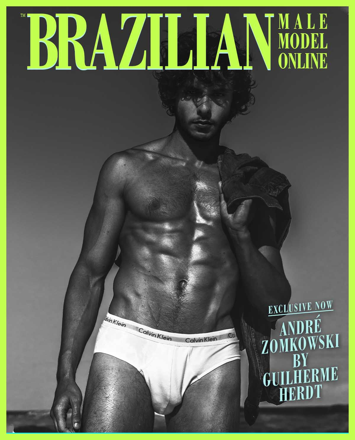 André Zomkowski X Guilherme Herd X Brazilian Male Model X YUP MAGAZINE
