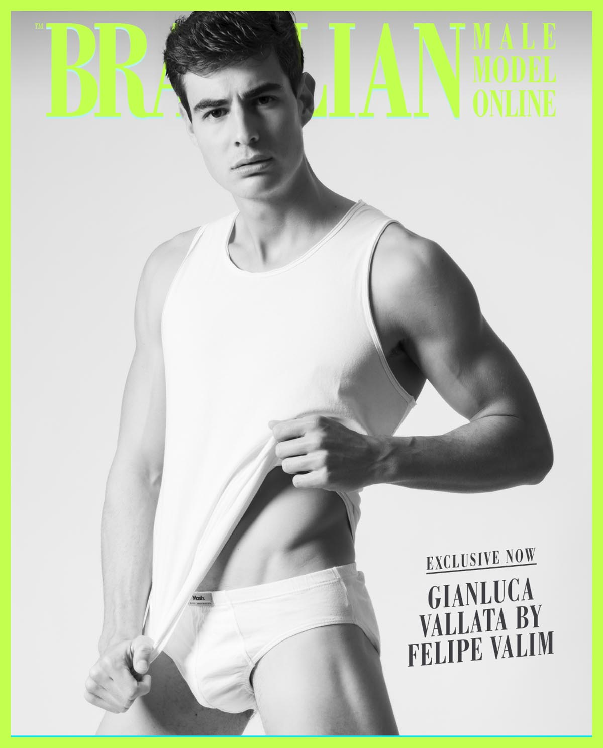 Gianluca Vallata X Felipe Valim X Brazilian Male Model X YUP MAGAZINE